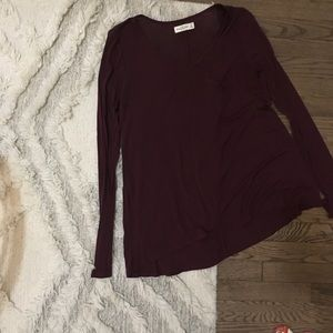 Abercrombie & Fitch Long Sleeve Pocket Tee